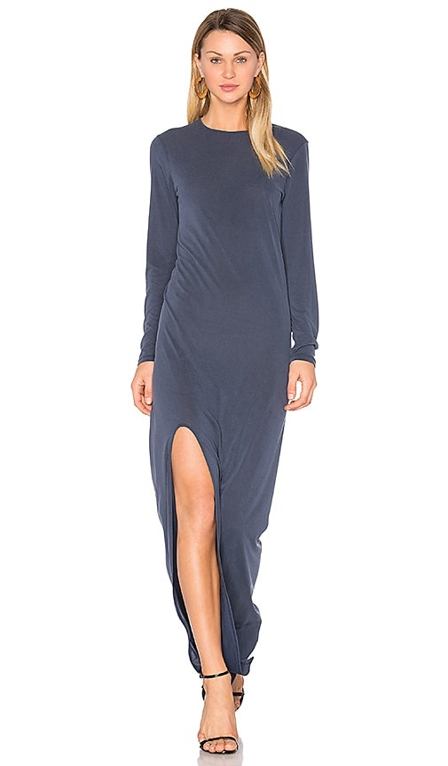 HELFRICH Parker Maxi Dress in Navy