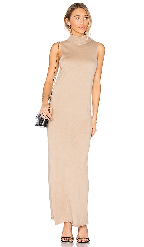 HELFRICH Carl Maxi Dress in Brown