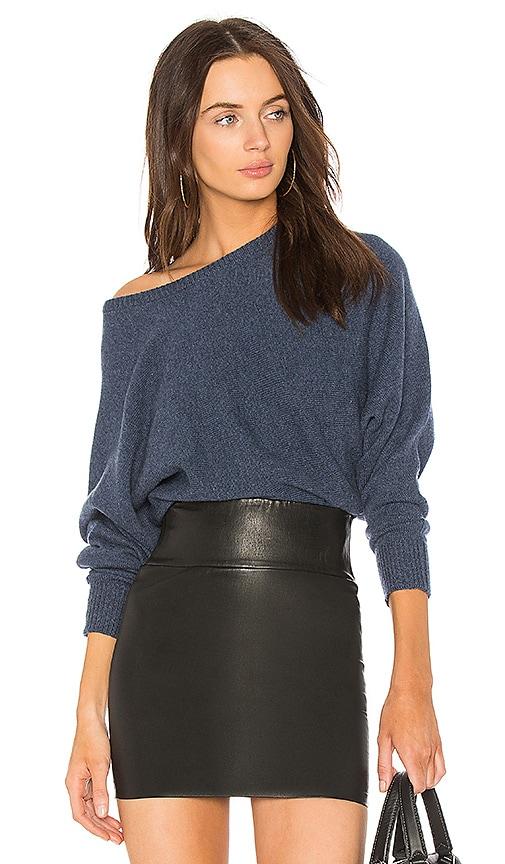 HELFRICH Brady Cashmere Sweater in Blue
