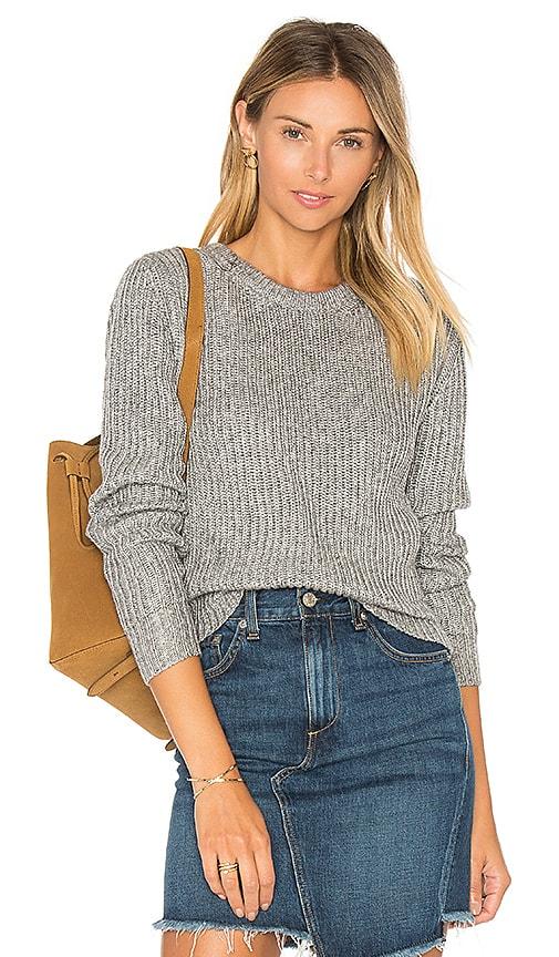HELFRICH Camden Crew Sweater in Gray