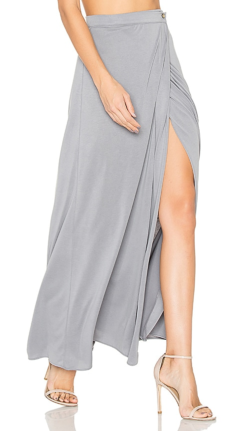 HELFRICH Luanne Maxi Skirt in Gray