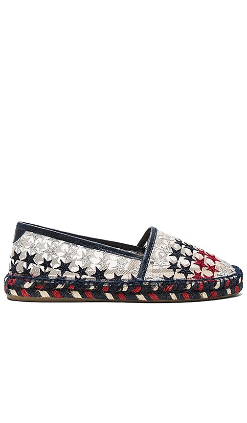 Hilfiger Collection Stars Net Espadrille in Navy