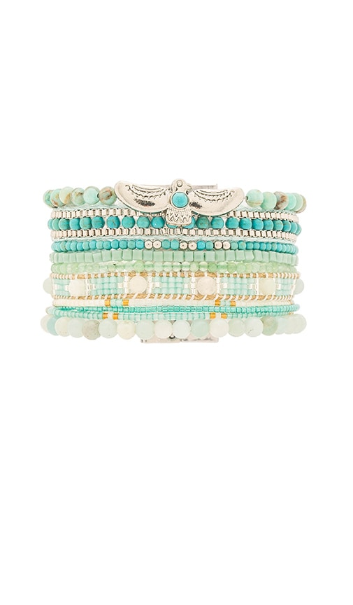 HiPANEMA Multi Bracelet in Mint