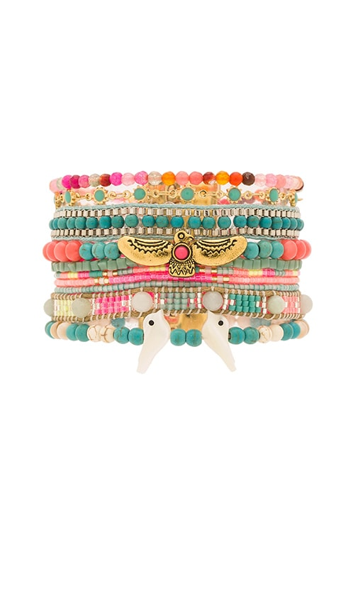 HiPANEMA Multi Bracelet in Fiesta