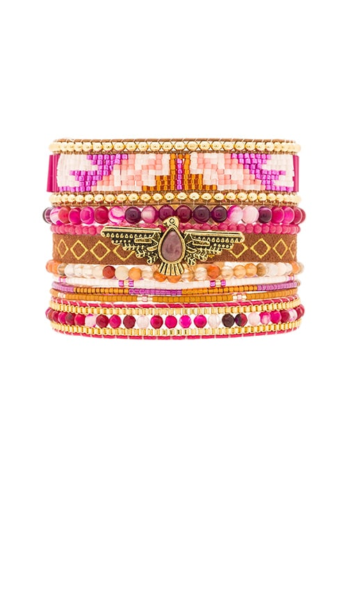 HiPANEMA Multi Bracelet in Pink