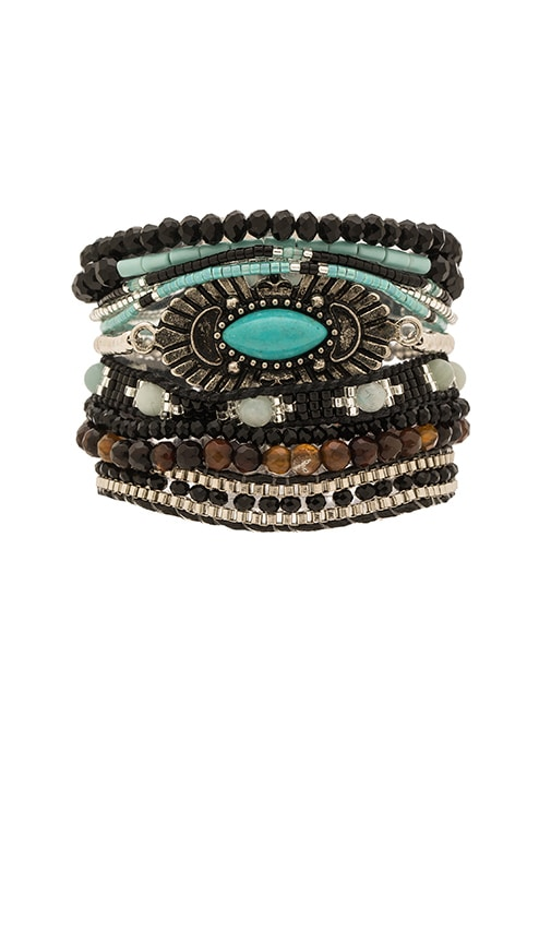 HiPANEMA Multi Bracelet in Meteor