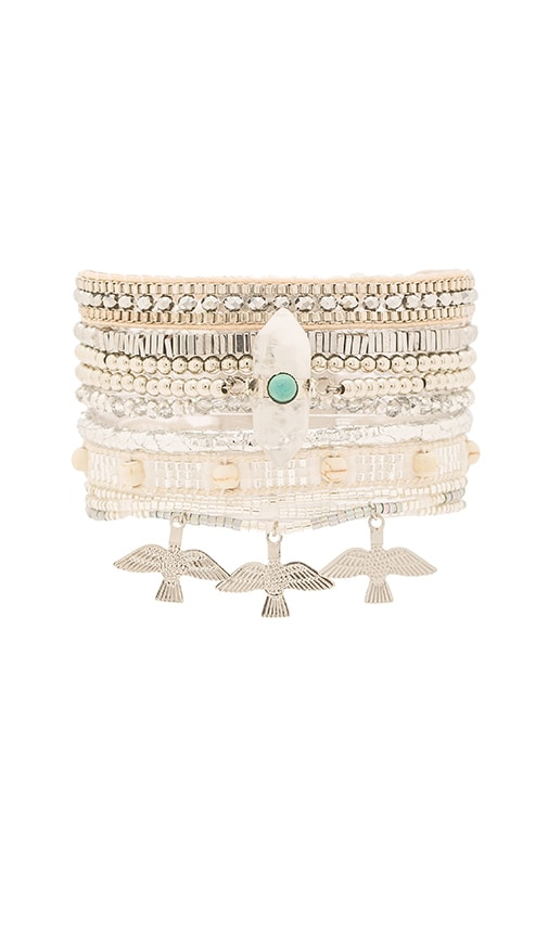 HiPANEMA Multi Bracelet in Oh My Silver