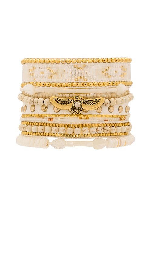 HiPANEMA Multi Bracelet in White