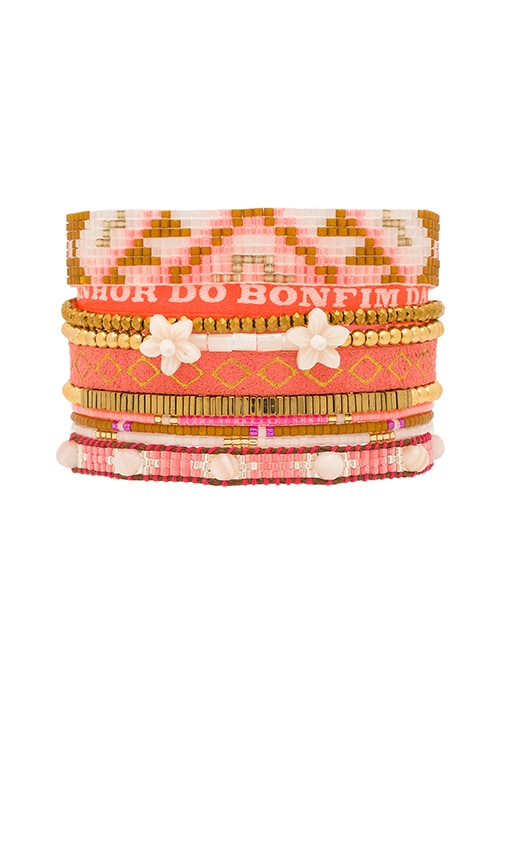 HiPANEMA Multi Bracelet in Orange