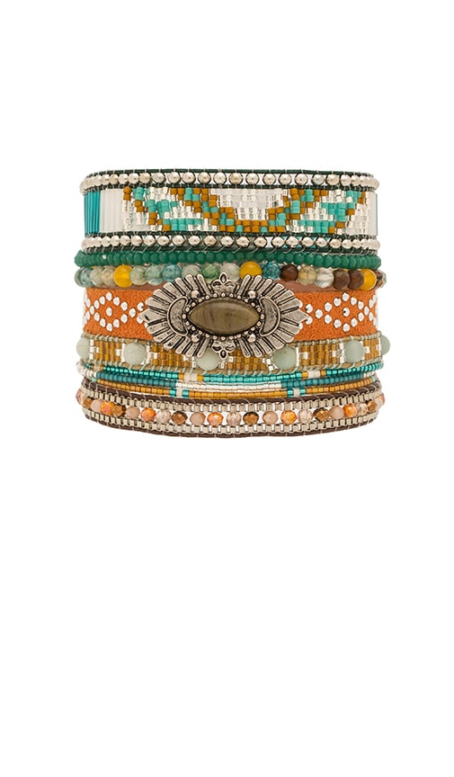 HiPANEMA Multi Bracelet in Metallic Silver