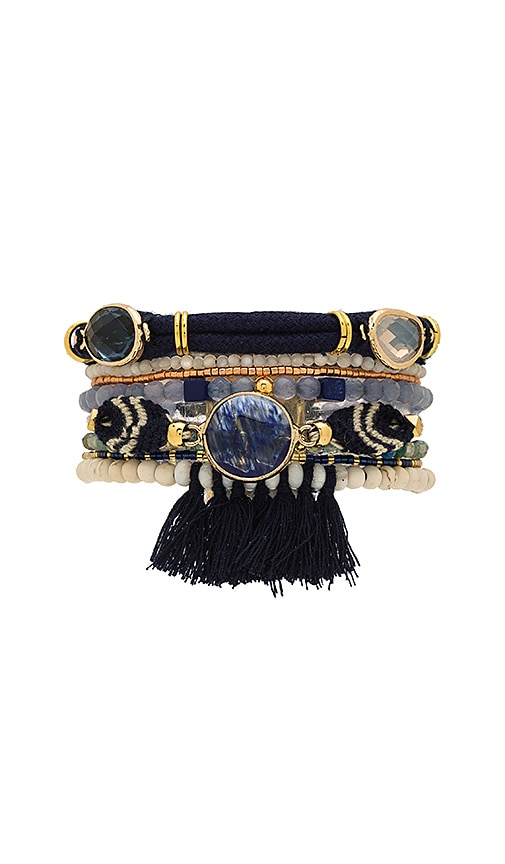 HiPANEMA Athena Bracelet in Navy