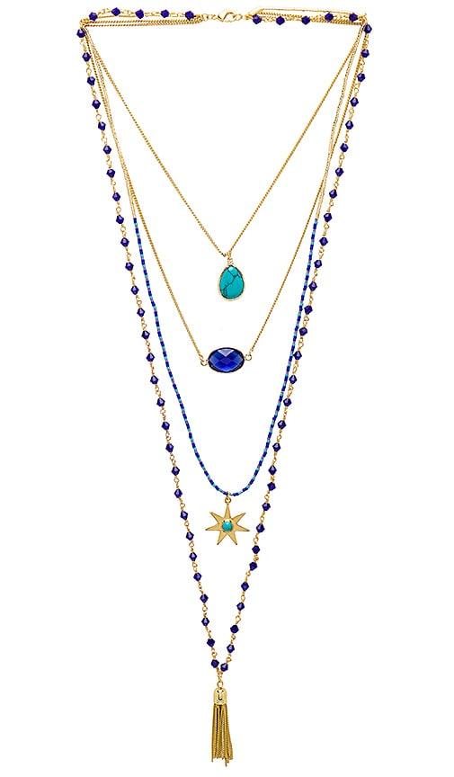 HiPANEMA Mumbai Necklace in Metallic Gold