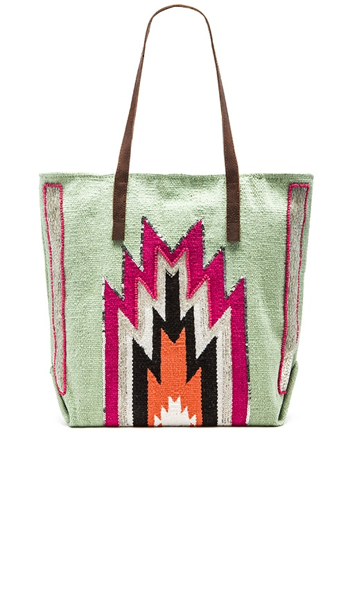 HiPANEMA x AMENAPiH Peruano Tote in Mint