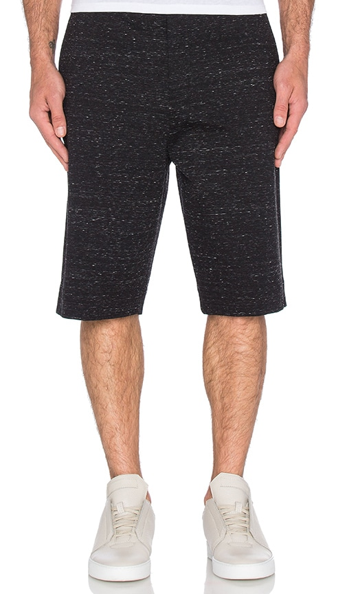 Helmut Lang Tailored Short in Charcoal