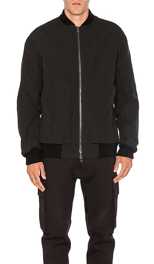 Helmut Lang Oversized Bomber in Black