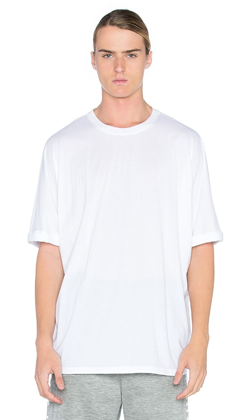 White Uni Sleeve T-Shirt Helmut Lang Clearance Low Cost kzmnu1