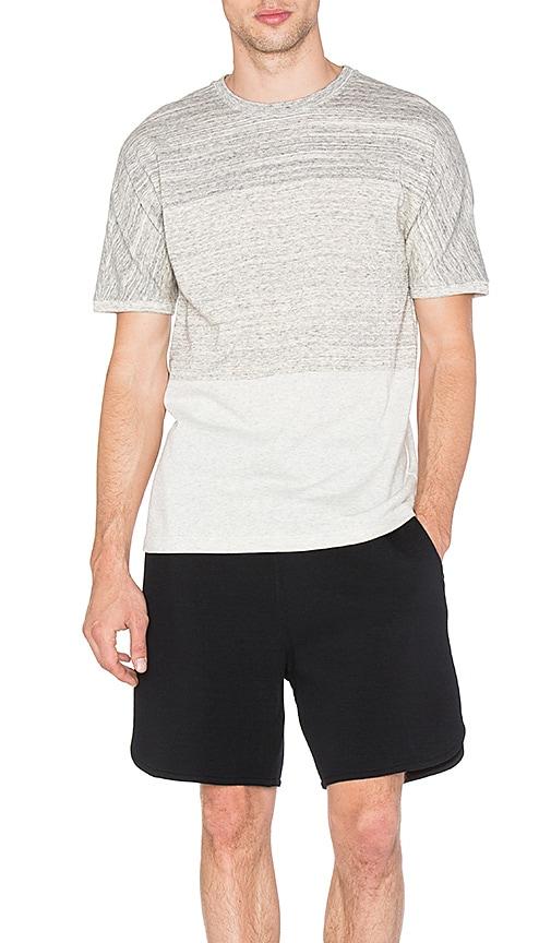 Helmut Lang Uni Sleeve Tee in Gray