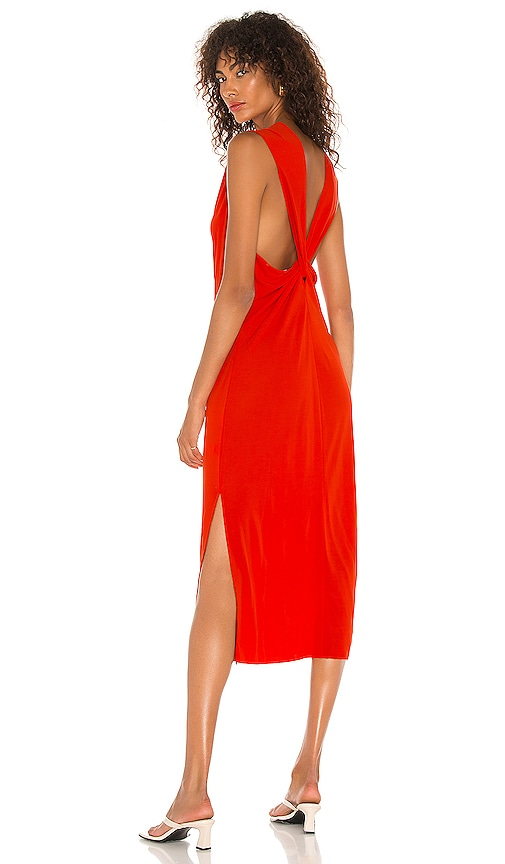 Helmut Lang BACK TWIST DRESS