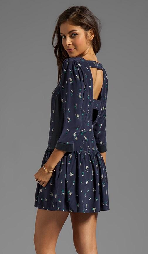 Drop Waist Cut-Out Dress