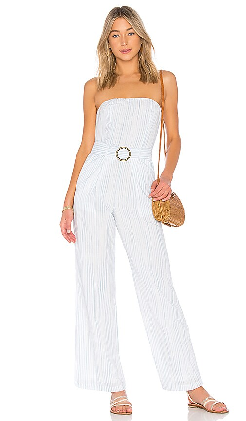 New House of Harlow 1960 x REVOLVE Dominique Jumpsuit in Trapani Stripe free shipping