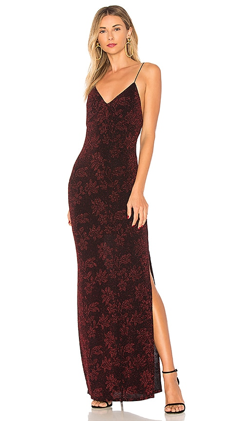 House of Harlow 1960 Rae Crossback Dress in Red