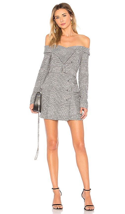 House of Harlow 1960 x REVOLVE Mademoiselle Dress in Gray