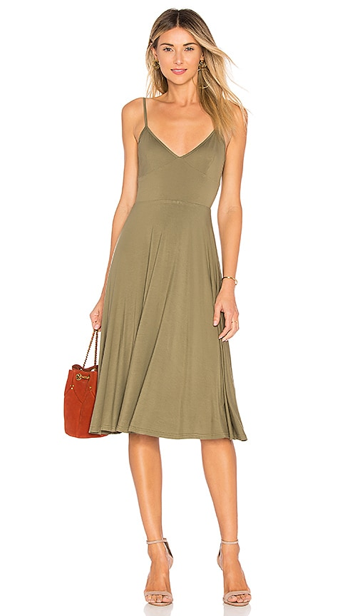 House of Harlow 1960 x REVOLVE Freya Dress in Olive