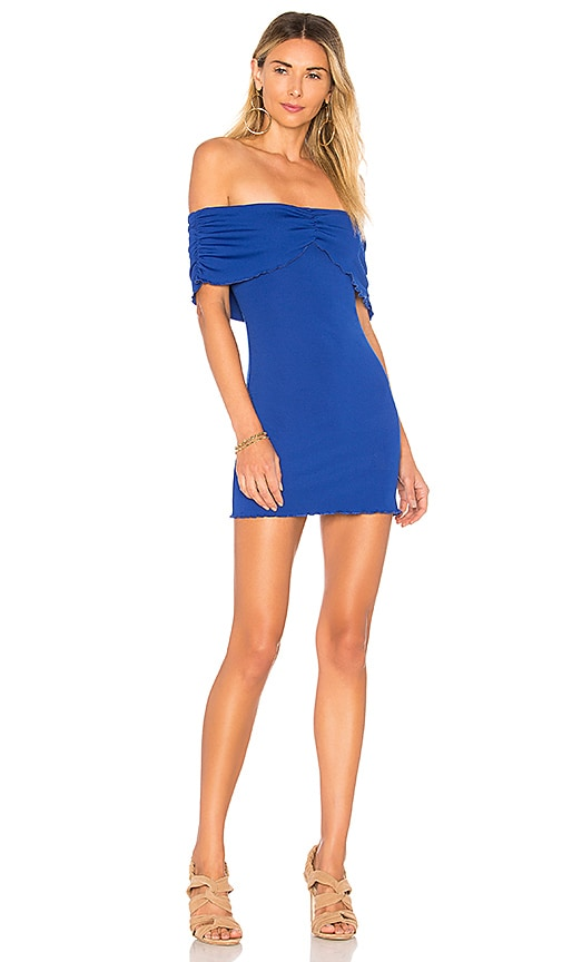 House of Harlow 1960 x REVOLVE Bauer Dress in Royal