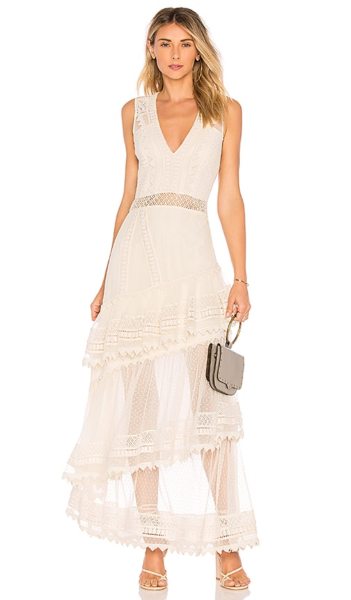 House of Harlow 1960 x REVOLVE Valence Dress in Cream