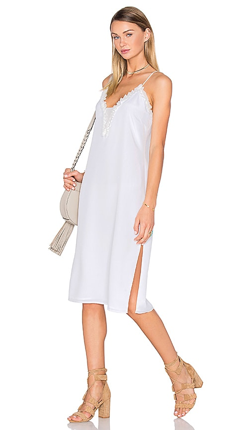 House of Harlow 1960 x REVOLVE Stella Deep V Slip Dress in Ivory