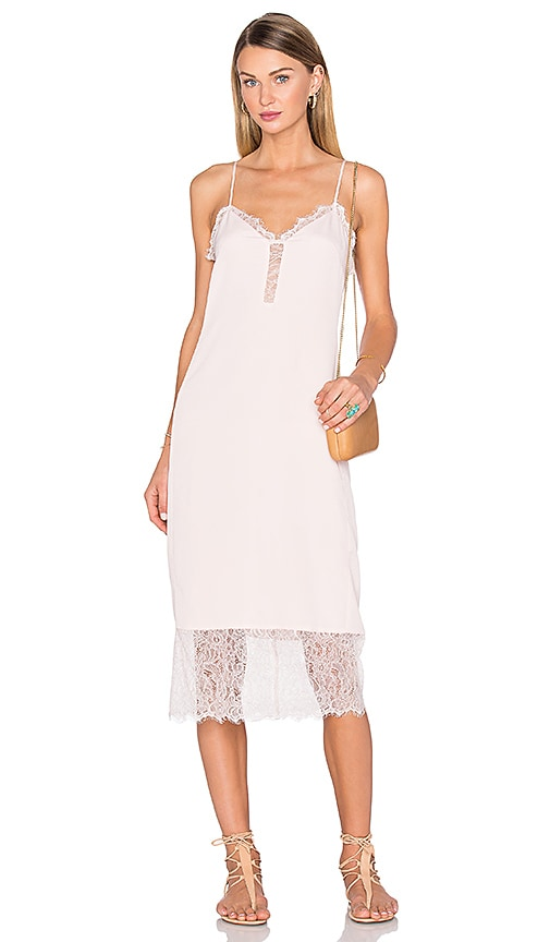 House of Harlow 1960 x REVOLVE Emma Lace Hem Slip Dress in Blush