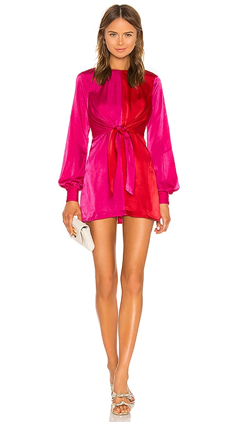 House Of Harlow 1960 X Revolve Lotta Dress In Fuchsia Revolve Revolve fashion is an high street retailer, stocking the latest season based collections for all occasions including weddings, and also day wear and events. revolve
