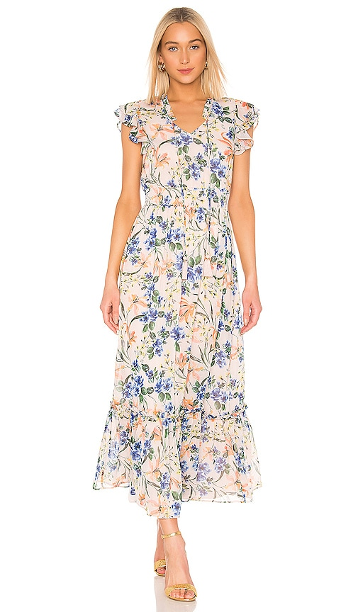 House of Harlow 1960 X REVOLVE Suus Dress in Blush Mixed Floral | REVOLVE