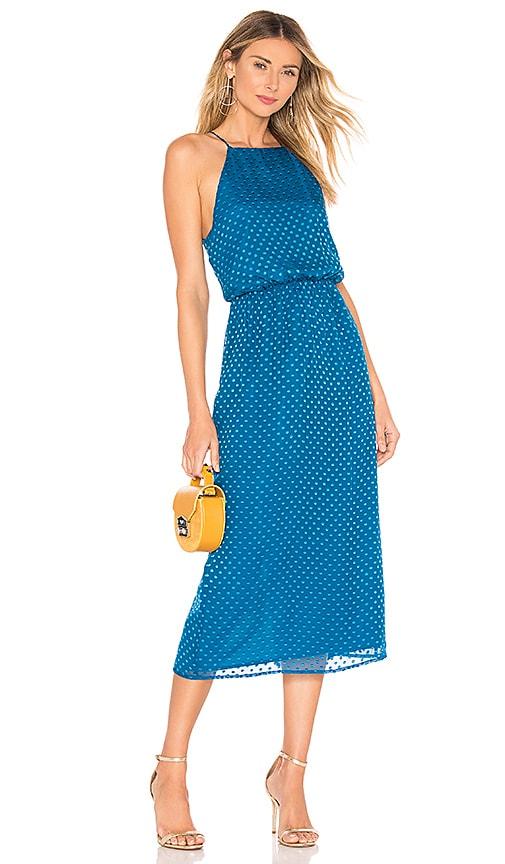 x REVOLVE Farrah Silk Dress