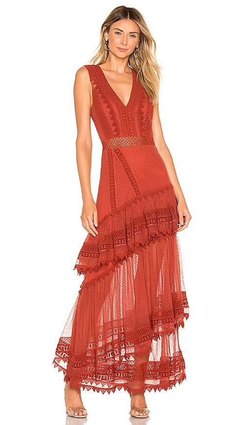 X REVOLVE Valence Dress