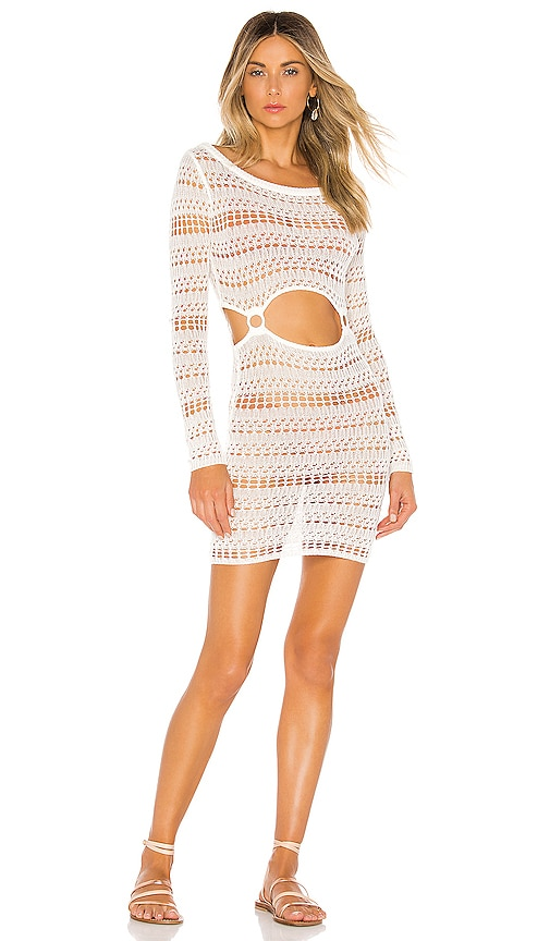 x REVOLVE Ace Cut Out Dress