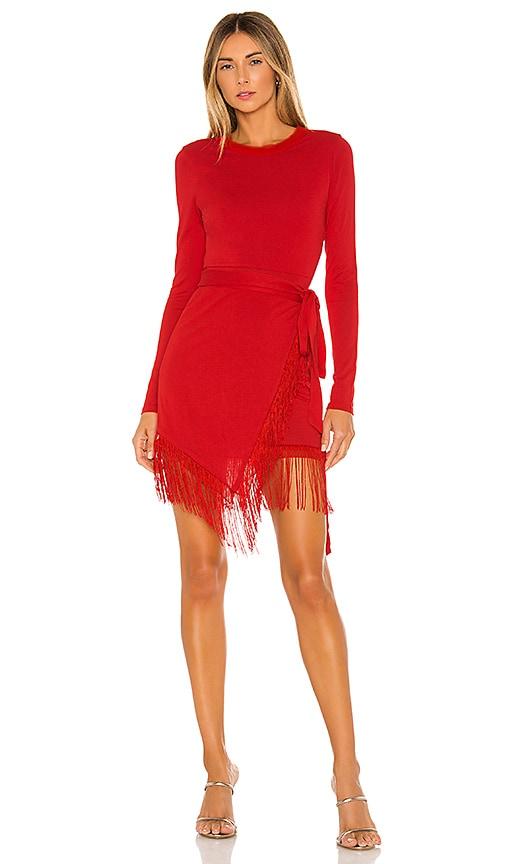 x REVOLVE Anisha Fringe Dress