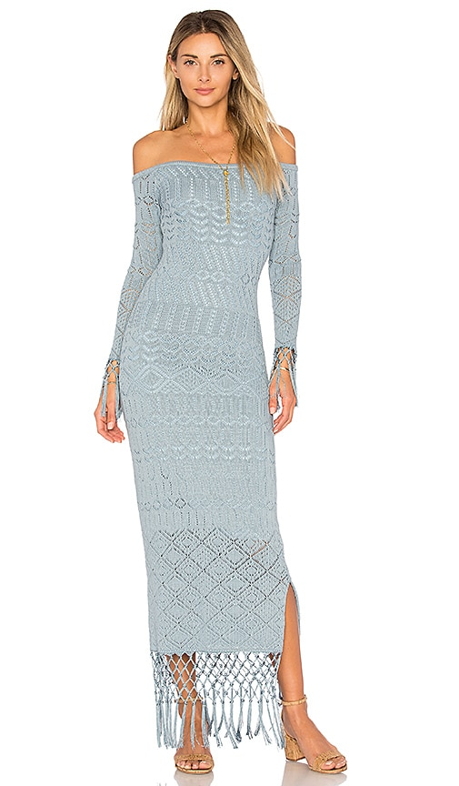 House of Harlow 1960 x REVOLVE Rose Dress in Blue