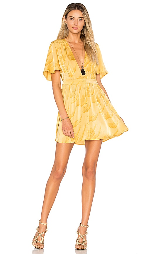 House of Harlow 1960 x REVOLVE Dawn Dress in Yellow