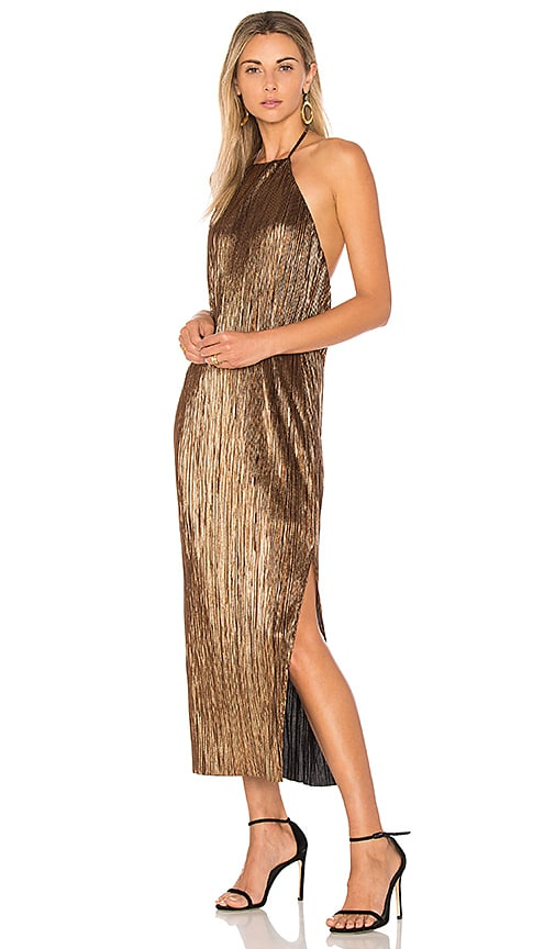 House of Harlow 1960 x REVOLVE Frederick Dress in Metallic Gold