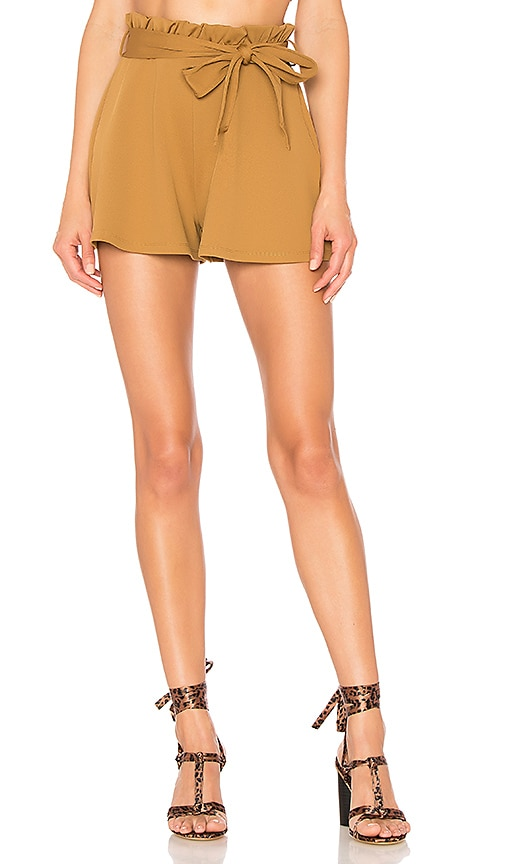 Cheap House of Harlow 1960 x REVOLVE Jerome Short in Toffee