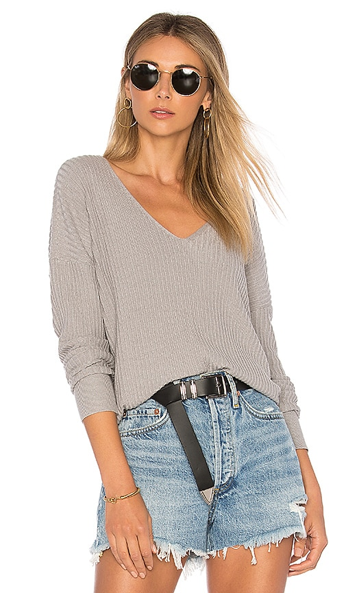 House of Harlow 1960 x REVOLVE Miles Pullover in Grey