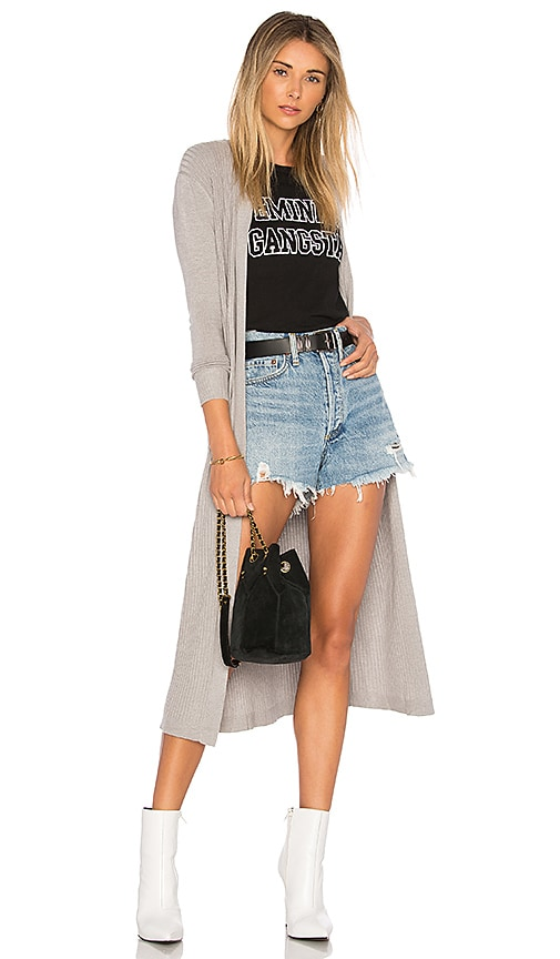 House of Harlow 1960 x REVOLVE James Cardigan in Grey