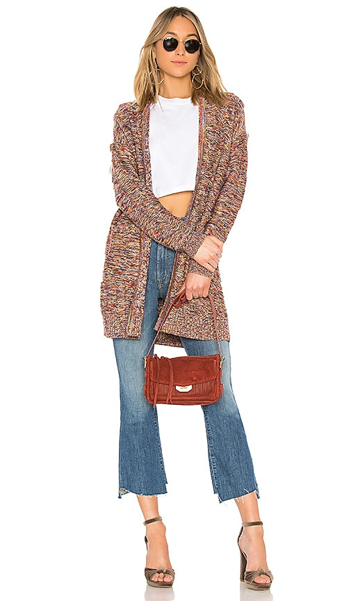 House of Harlow 1960 x REVOLVE Marc Cardigan in Brown