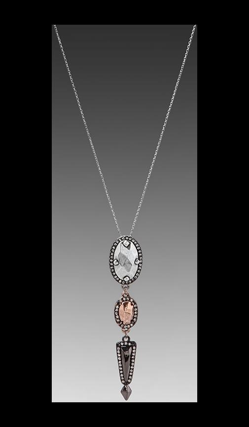House of Harlow Rif Rebble Pendant Necklace