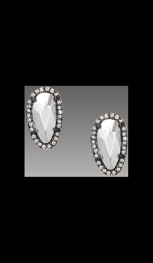 House of Harlow Rif Pebble Stud Earrings