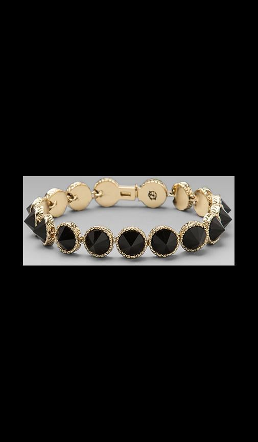 House of Harlow Black is the New Tennis Bracelet