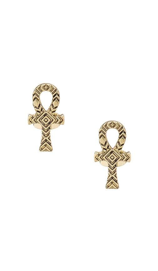 House of Harlow Knot of Isis Studs
