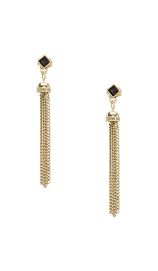 House of Harlow Chainette Earrings