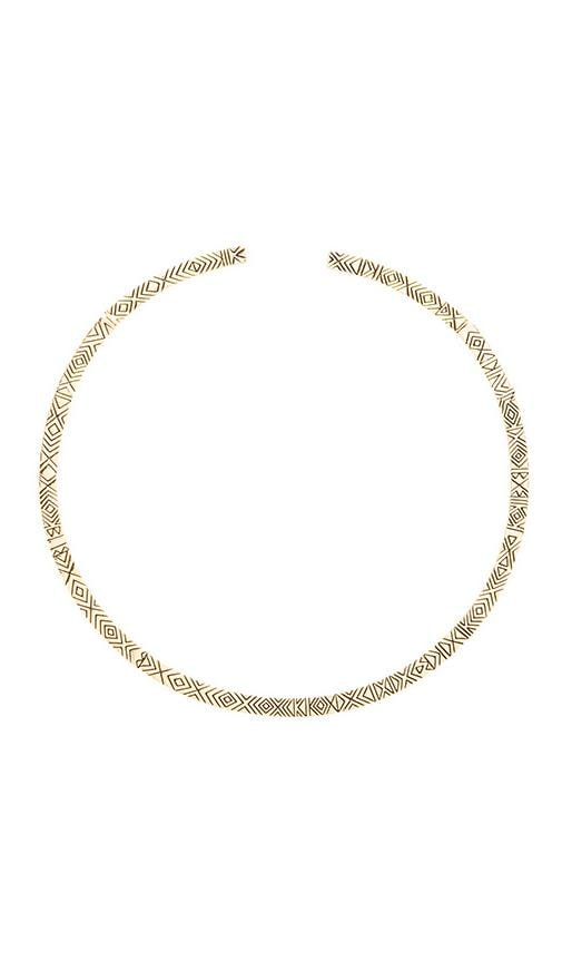 House of Harlow Isis Engraved Collar